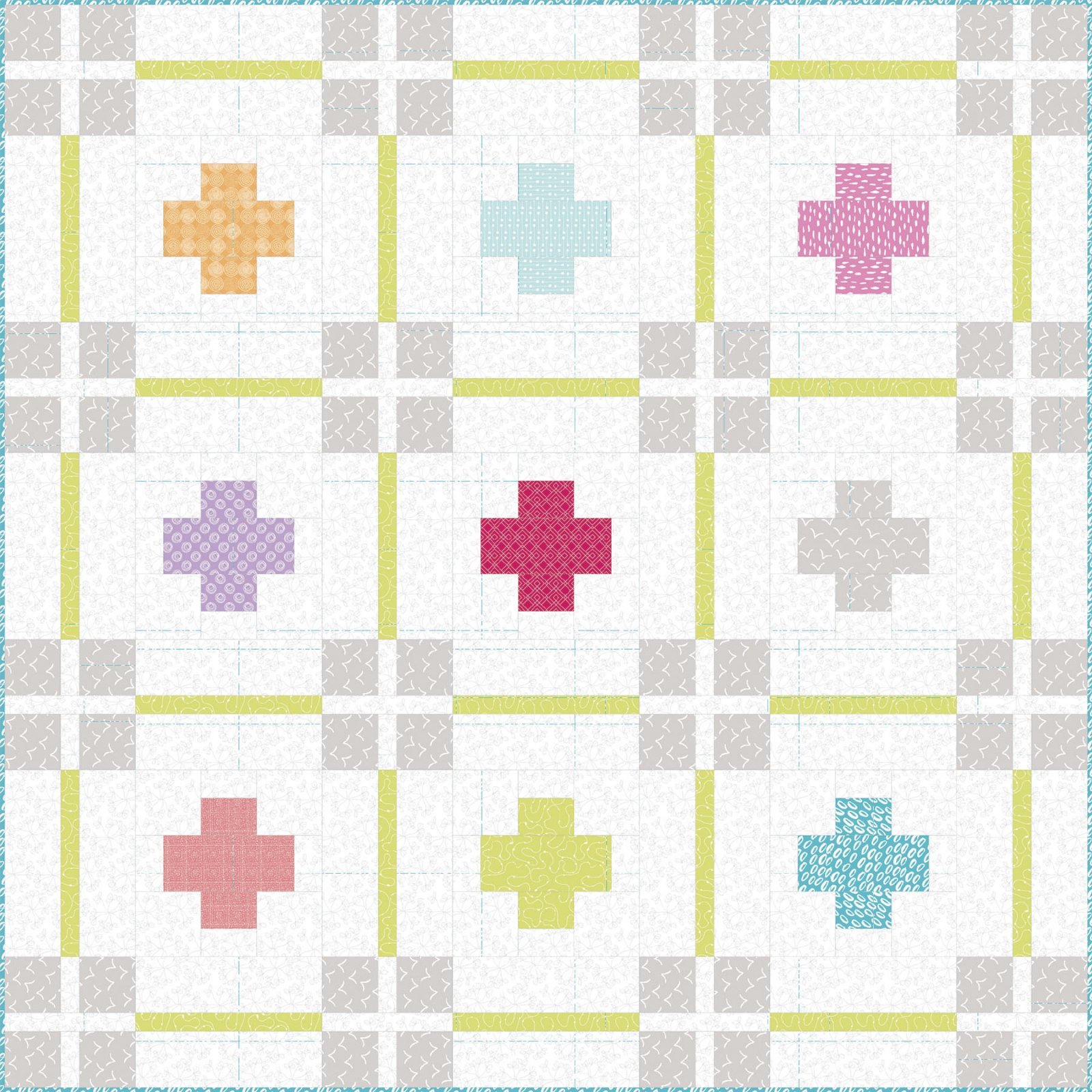 3 Wishes Fabric<br>3W Basics Quilt