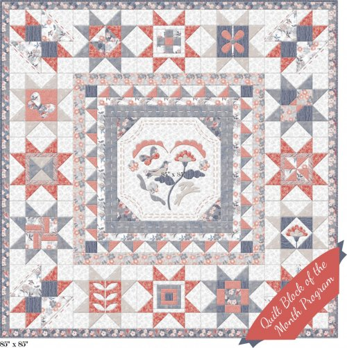 Marbella Quilt Block of the Month