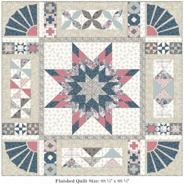 Farmhouse Quilt Block of the Month