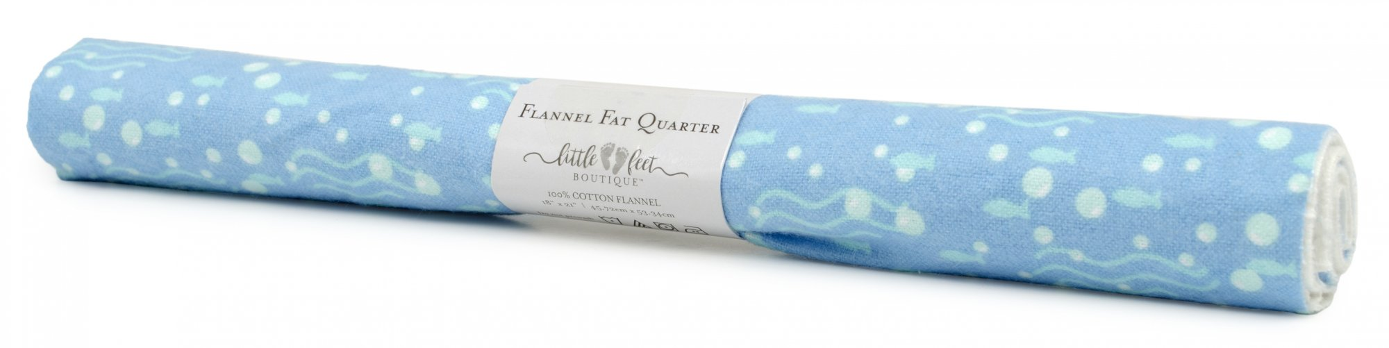 LFB Sea Life<br>Fat Quarter - Bubbles<br>WM-LFB-FQ-SEA1