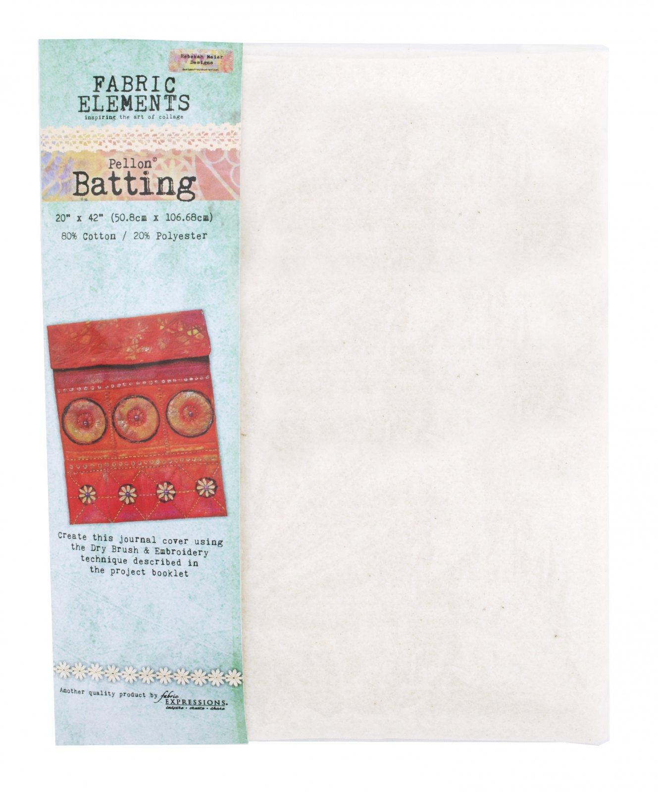 Fabric Elements Batting - Natural