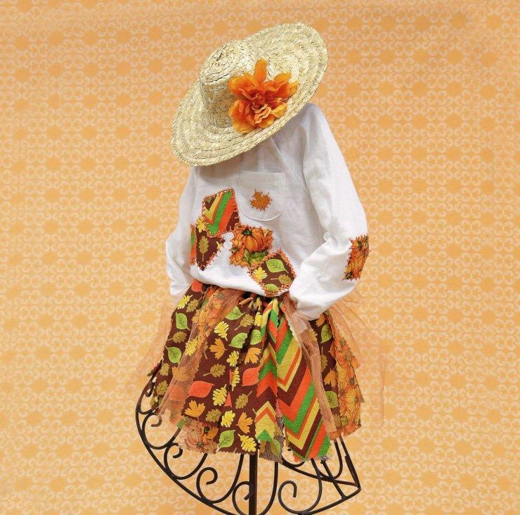 Sweet Scarecrow Kid's Costume