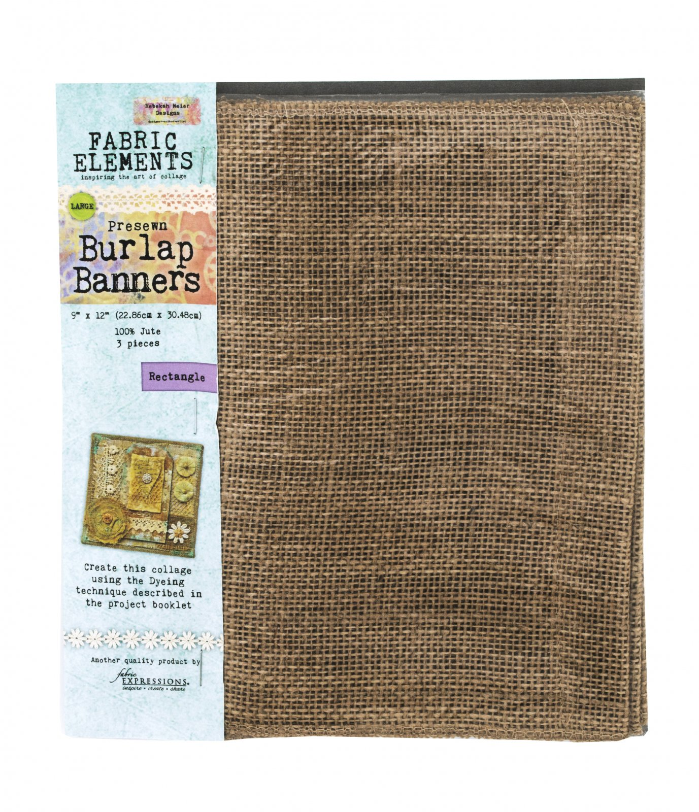 Fabric Elements Burlap Banners