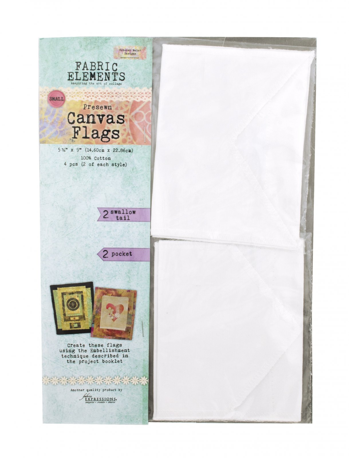 Fabric Elements Canvas Flags
