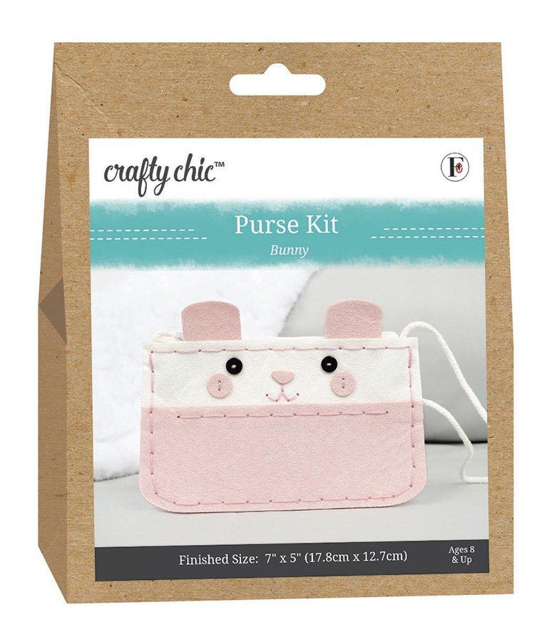 Crafty Chic <br>Purse Kit Bunny <br>CC-PURSE-BUNNY