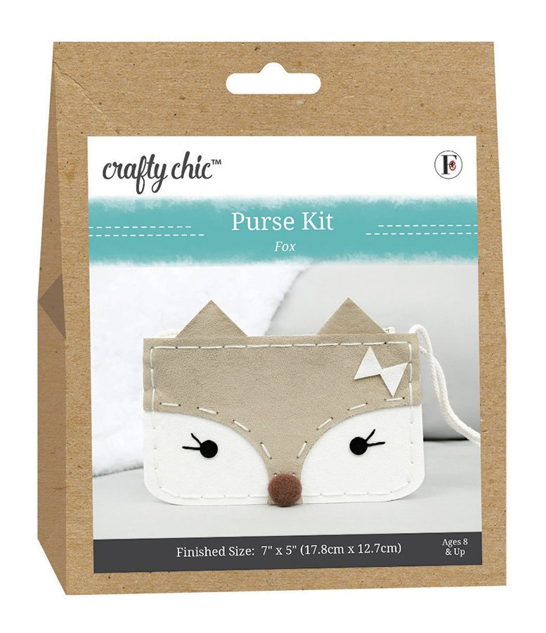 Crafty Chic <br>Purse Kit Fox <br>CC-PURSE-FOX