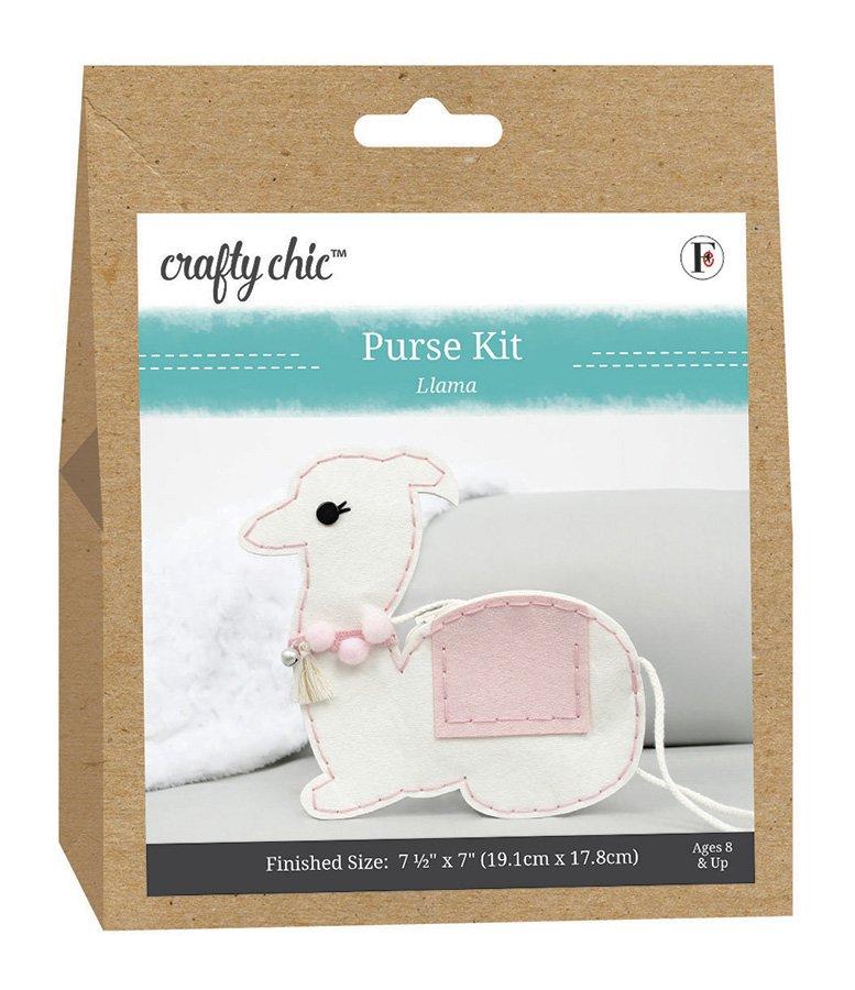 Crafty Chic <br>Purse Kit Llama <br>CC-PURSE-LLAMA