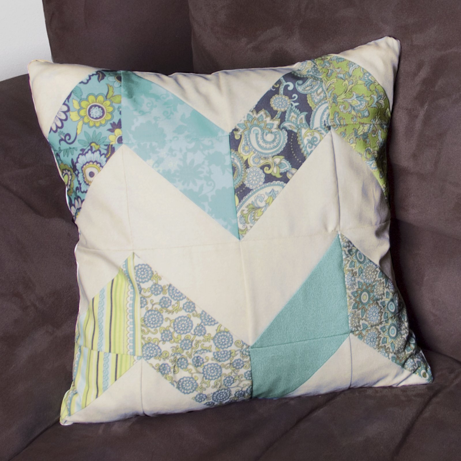 Paisley - Chevron Pillow