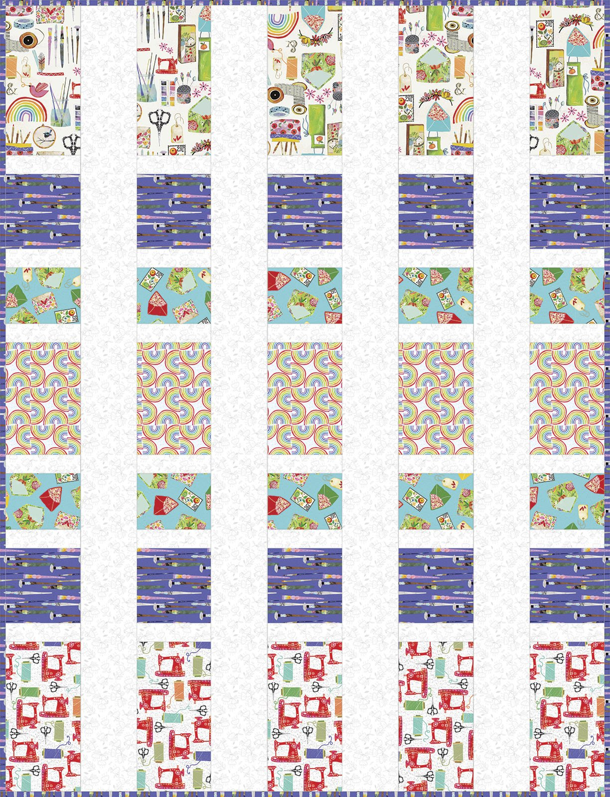 3 Wishes Fabric<br>Create & Hobby Quilt