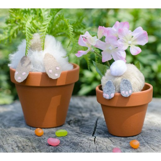 Easter Curious Bunnies