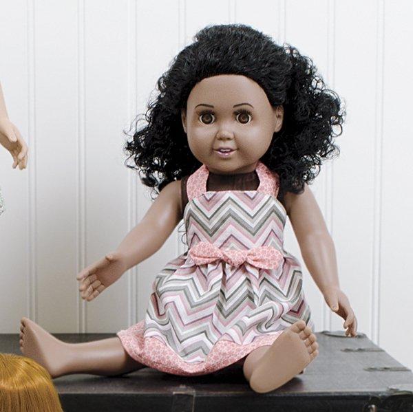 Madison Halter Doll Dress