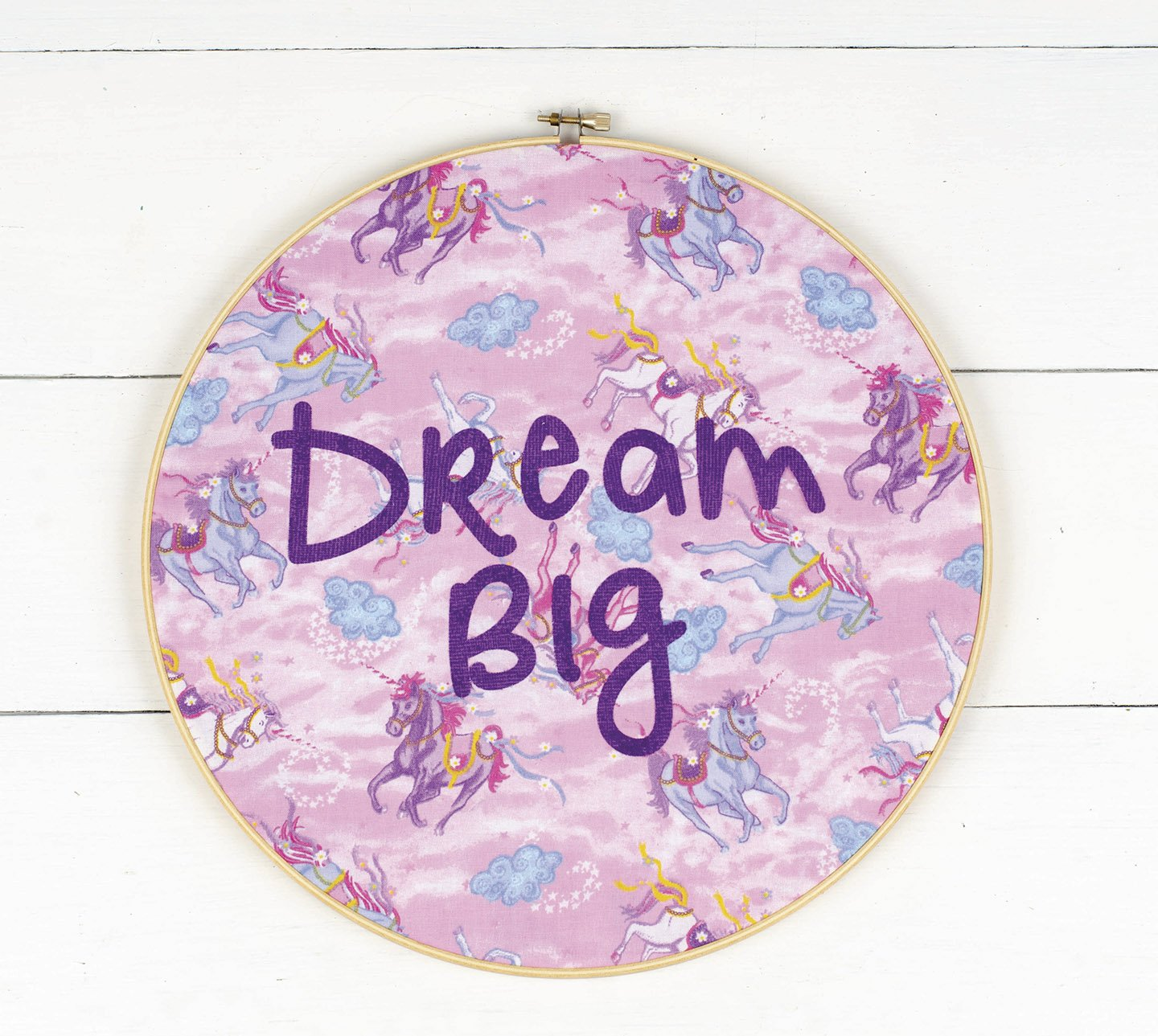 Unicorn Dream Big Hoop