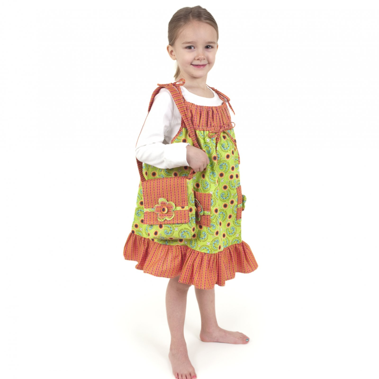Girls Dress and Shoulder Bag
