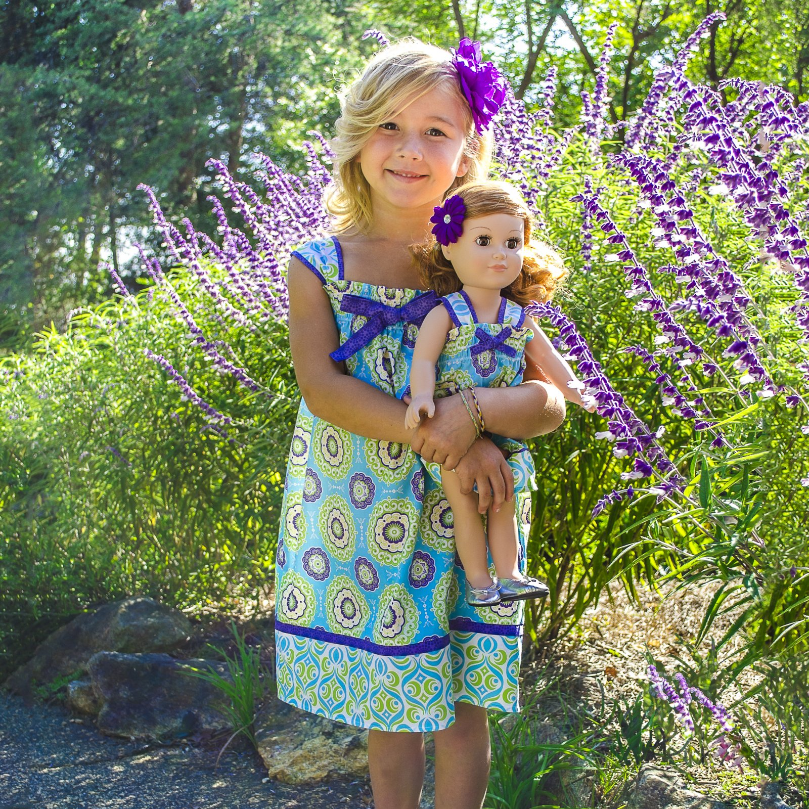 Matching Little Girl & Doll Dress