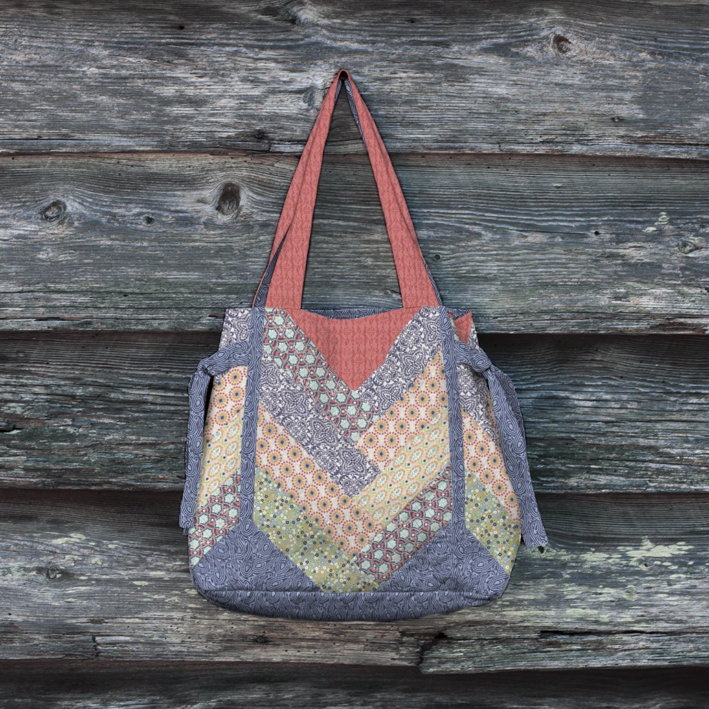 3 Wishes Fabric<br>Quentin Tote