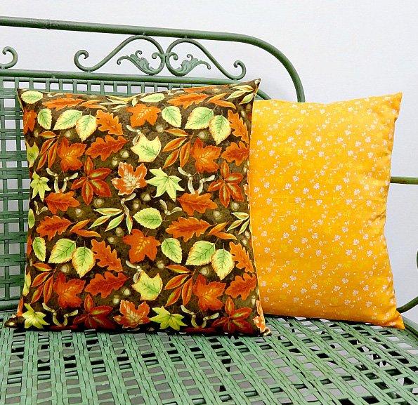Fall Fat Quarter Pillow Cover