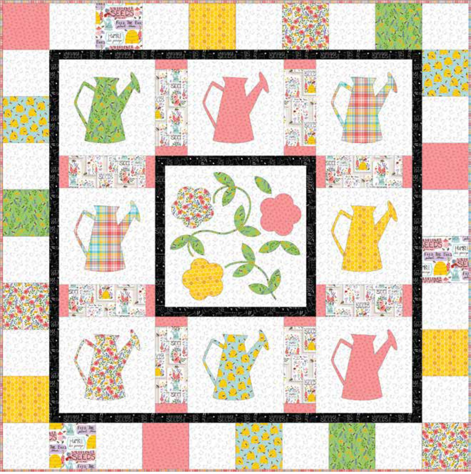 3 Wishes Fabric<br>Feed the Bees Quilt