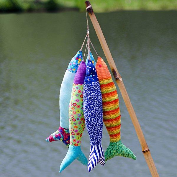 Colorful Stuffed Fish