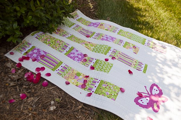 Flutterby Baby Quilt