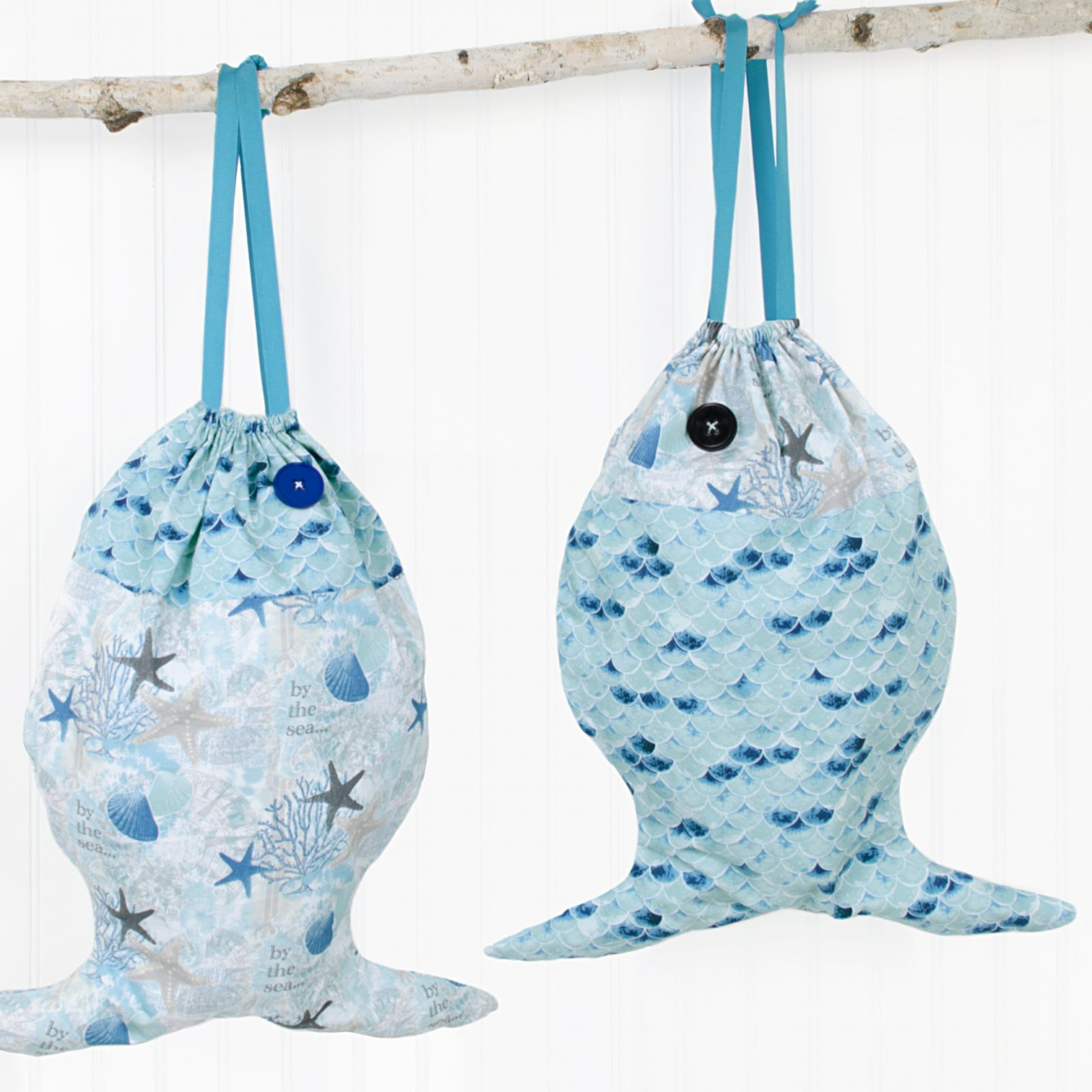 Gone Fishing Beach Bag