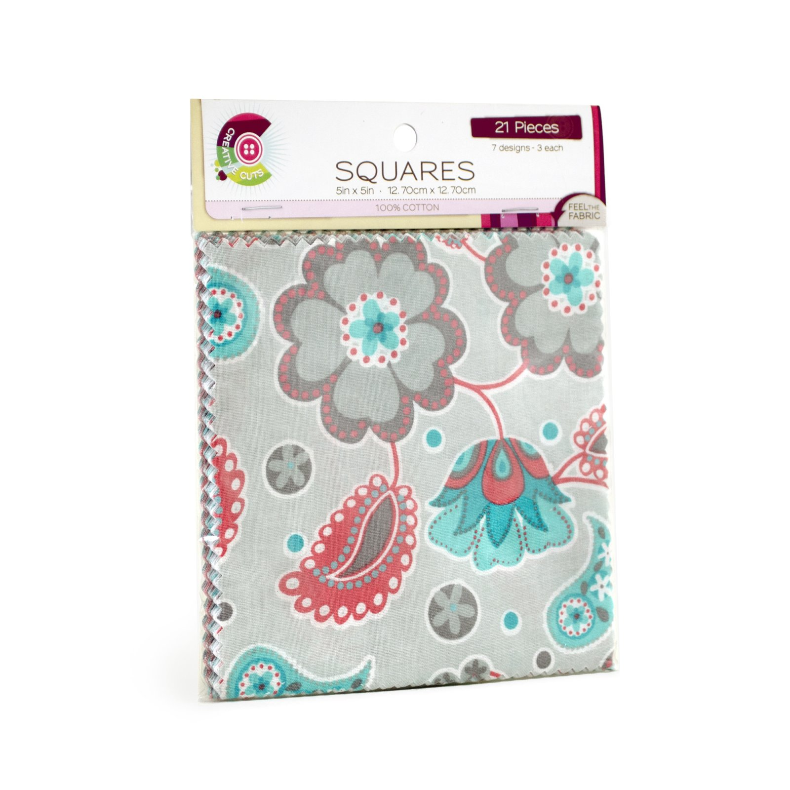 Creative Cuts 21pc Squares Pack <br> Grayson Collection<br> MD-WM-SQ-GRY