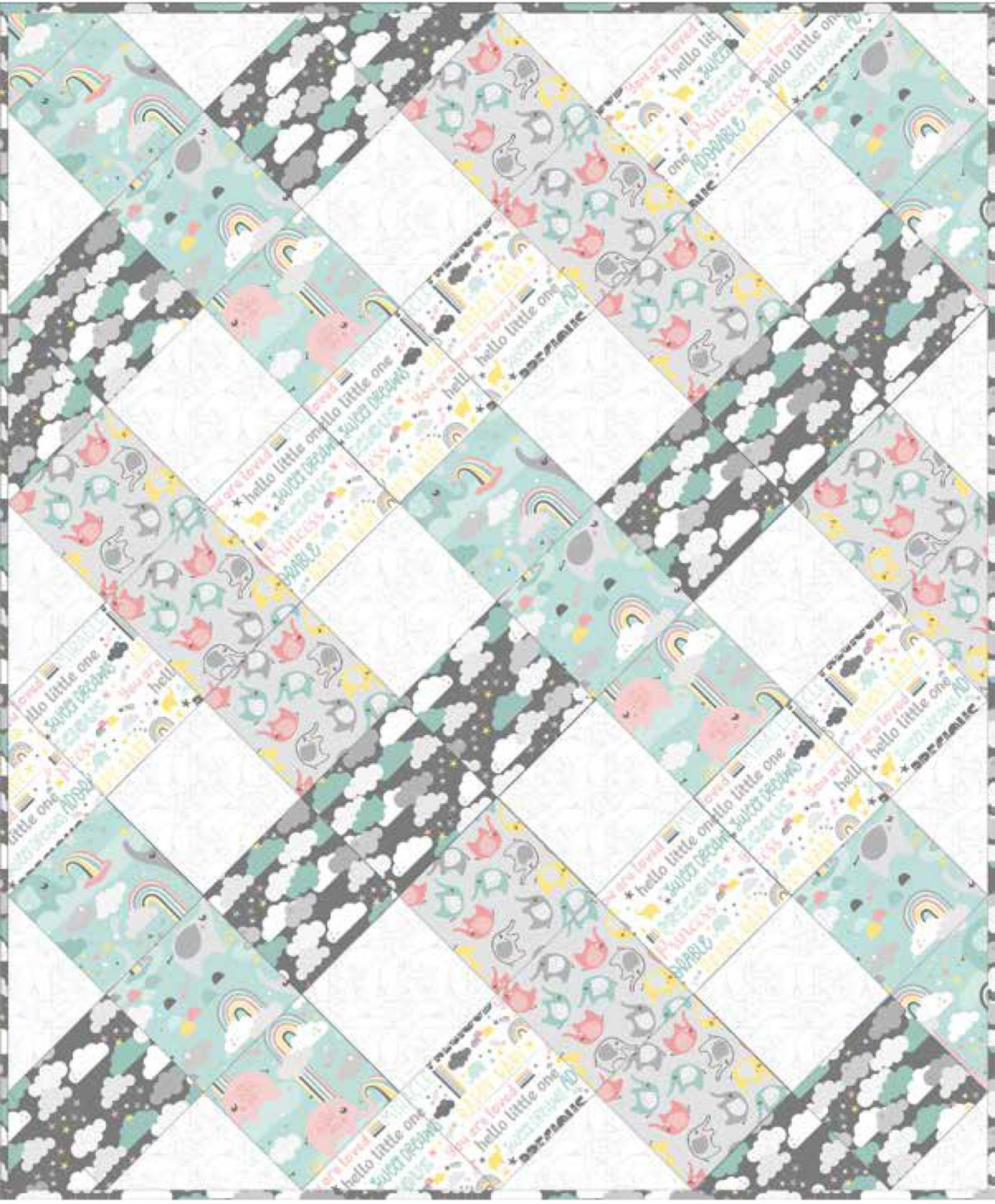 3 Wishes Fabric<br>Small & Mighty Quilt
