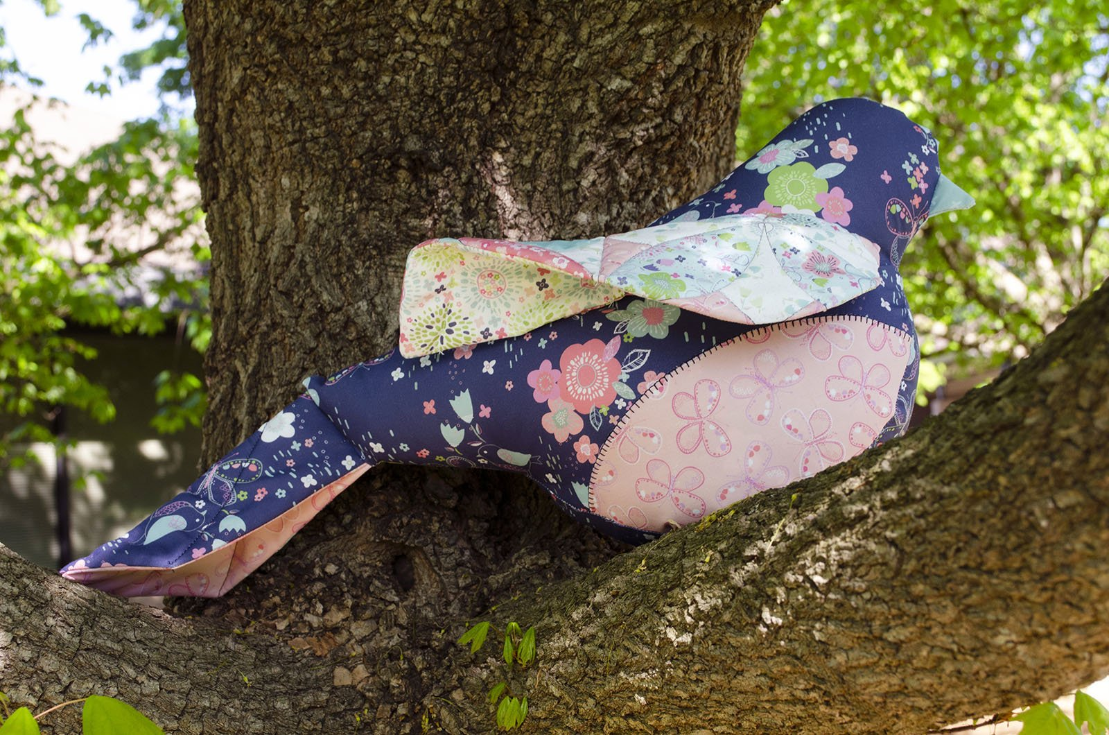 3 Wishes Fabric<br>Hello Spring Bird
