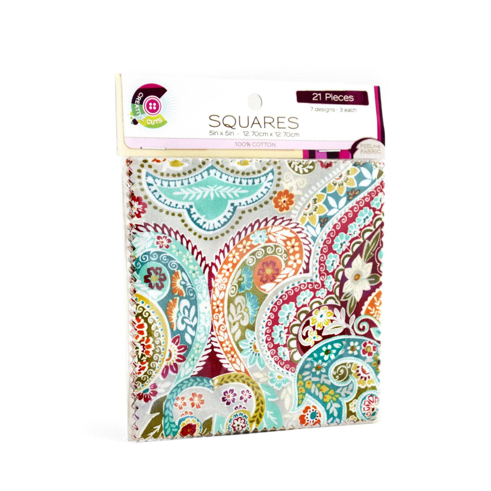 Creative Cuts 21pc Squares Pack <br> Jahandar Collection<br> MD-WM-SQ-JAH