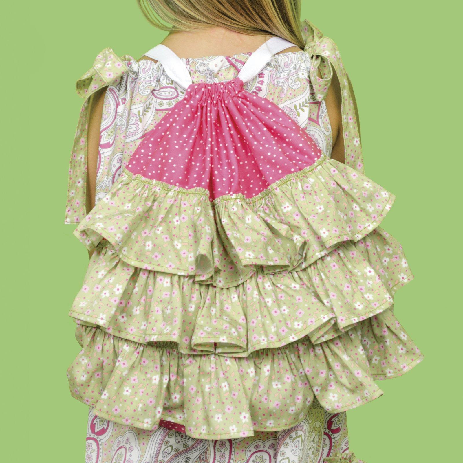 Little Dress Boutique II - Ruffles Backpack c8e716a0a
