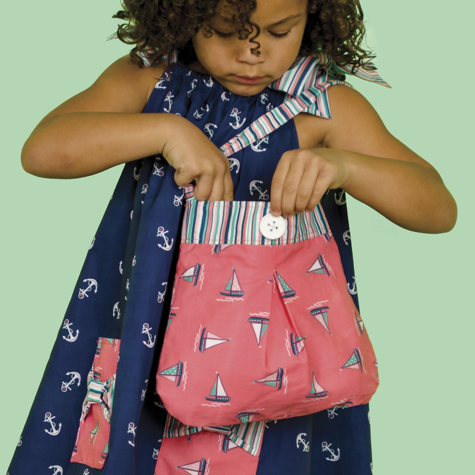 Little Dress Boutique II - Pleated Handbag