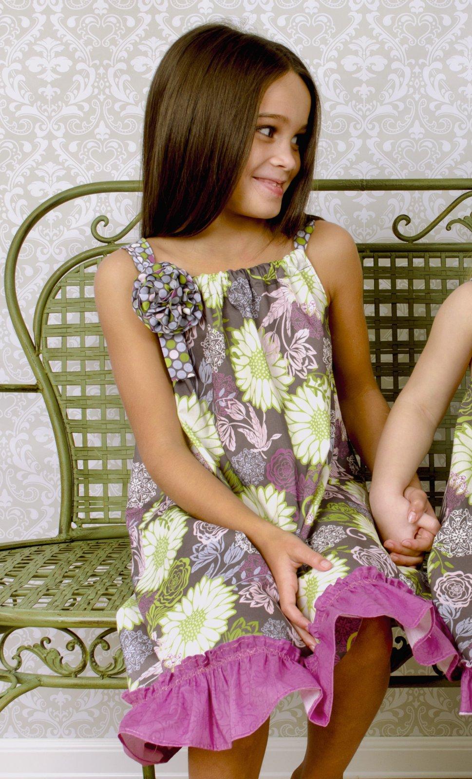Little Dress Boutique - Haley Single Ruffle Dress