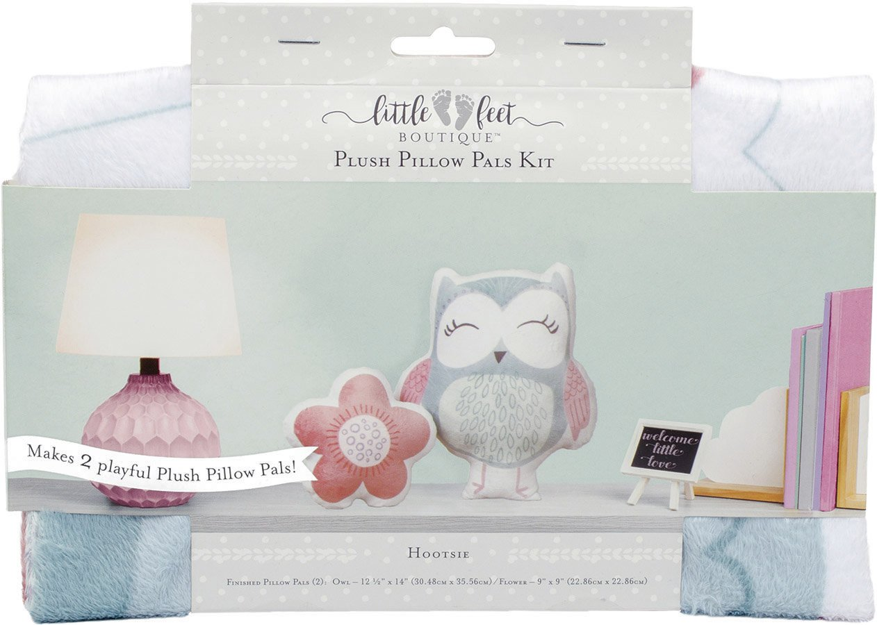 Little Feet Boutique<br>Plush Pillow Pals Kit  <br>LFB-PLKIT-BG