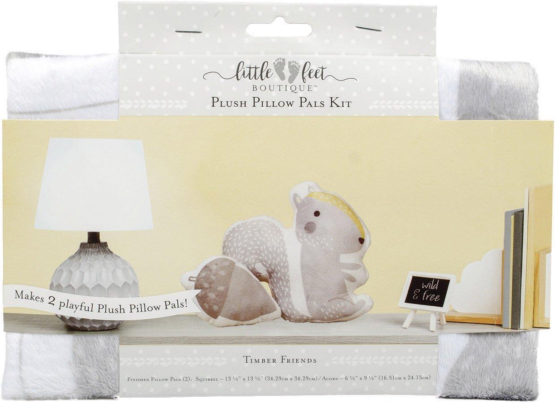 Little Feet Boutique<br>Plush Pillow Pals Kit  <br>LFB-PLKIT-BN