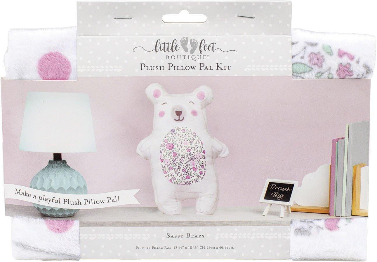 Little Feet Boutique<br>Plush Pillow Pals Kit  <br>LFB-PLKIT-IG
