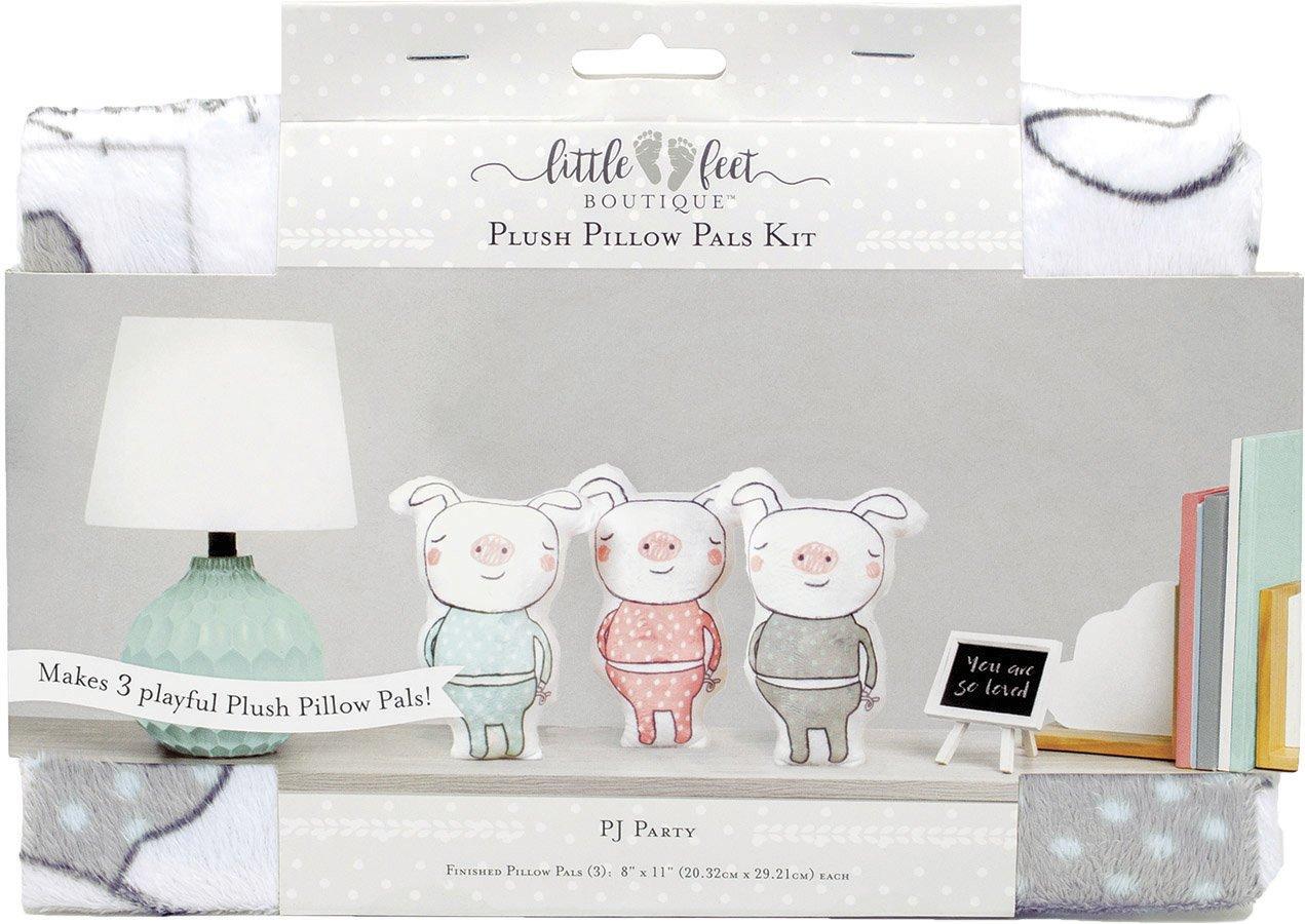Little Feet Boutique<br>Plush Pillow Pals Kit  <br>LFB-PLKIT-NE