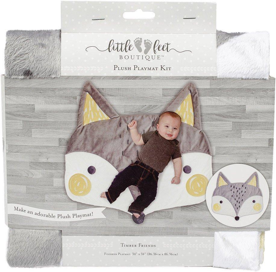 Little Feet Boutique<br>Plush Playmat Kit  <br>LFB-PMKIT-BN