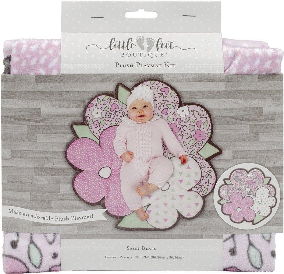 Little Feet Boutique<br>Plush Playmat Kit  <br>LFB-PMKIT-IG