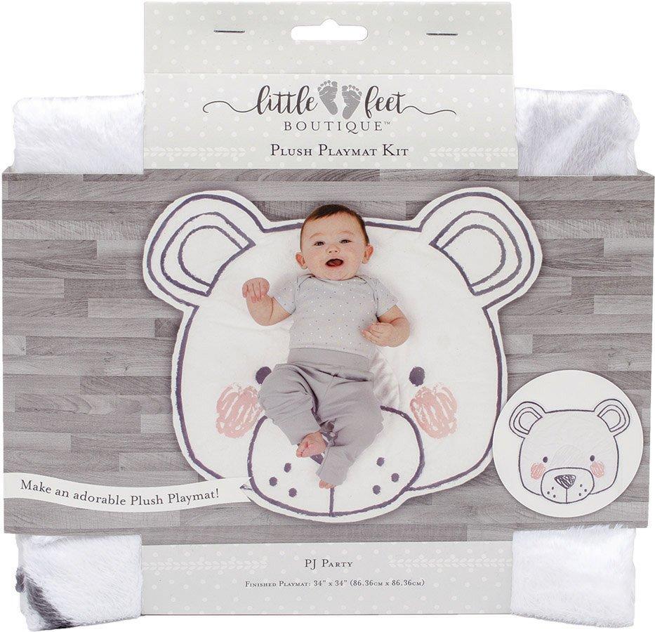 Little Feet Boutique<br>Plush Playmat Kit  <br>LFB-PMKIT-NE