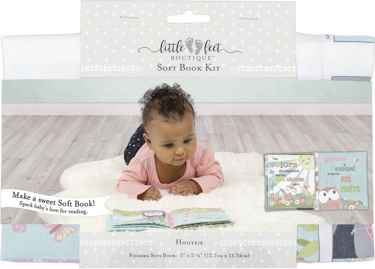 Little Feet Boutique<br>Soft Book Kit  <br>LFB-SBKIT-BG