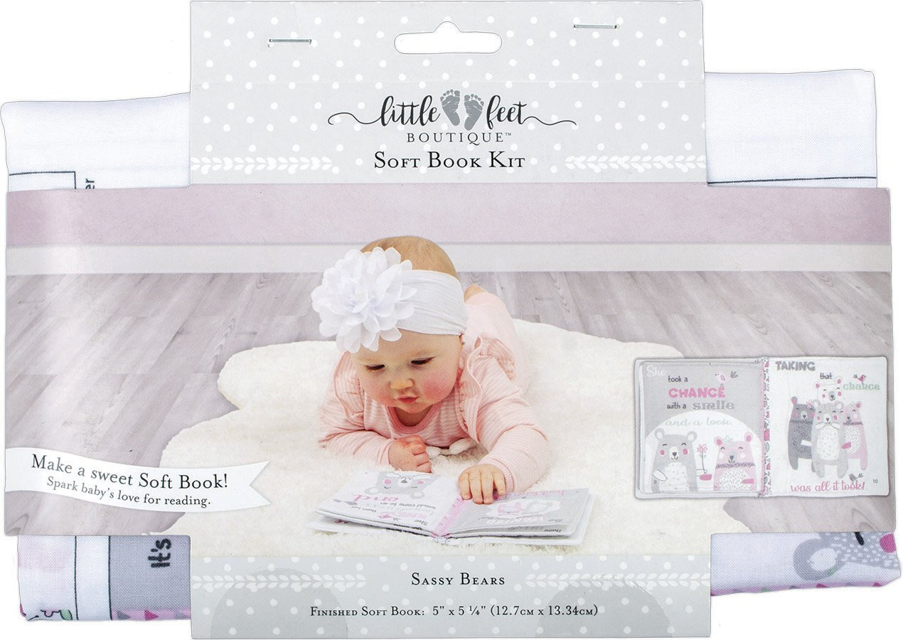 Little Feet Boutique<br>Soft Book Kit  <br>LFB-SBKIT-IG