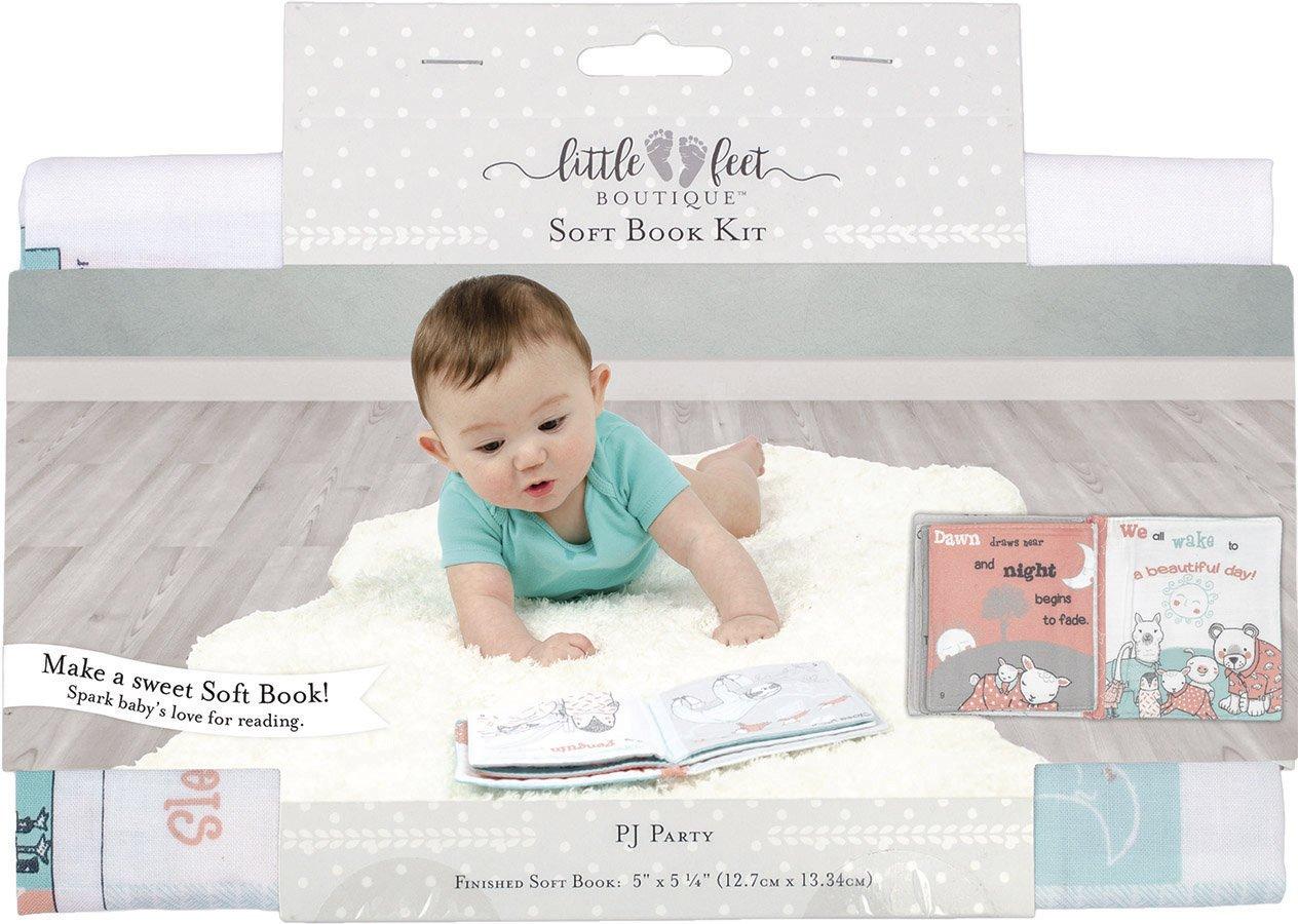 Little Feet Boutique<br>Soft Book Kit  <br>LFB-SBKIT-NE