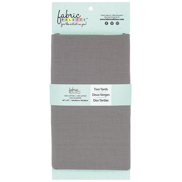 Fabric Palette 2yd Cotton<br>Gray<br>MD-G-2YD-CTN15