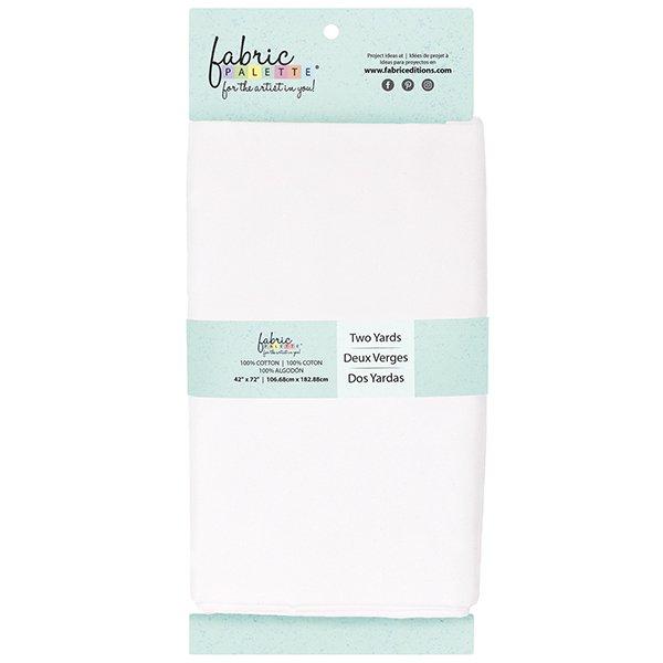 Fabric Palette 2yd Cotton<br>White<br>MD-G-2YD-CTN1