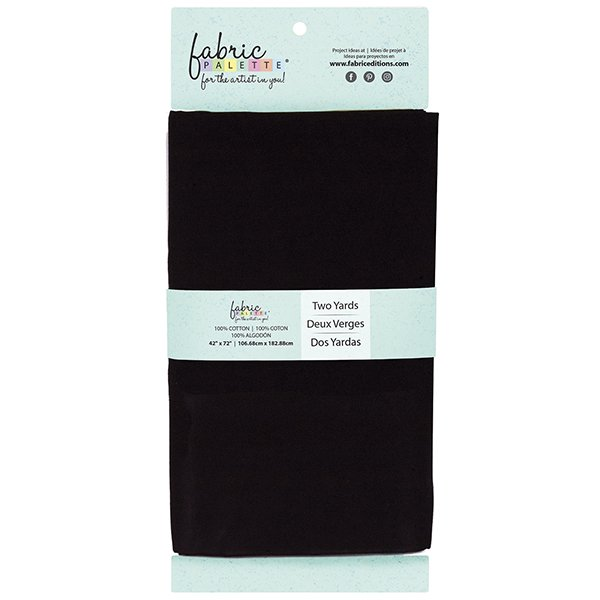 Fabric Palette 2yd Cotton<br>Black<br>MD-G-2YD-CTN2