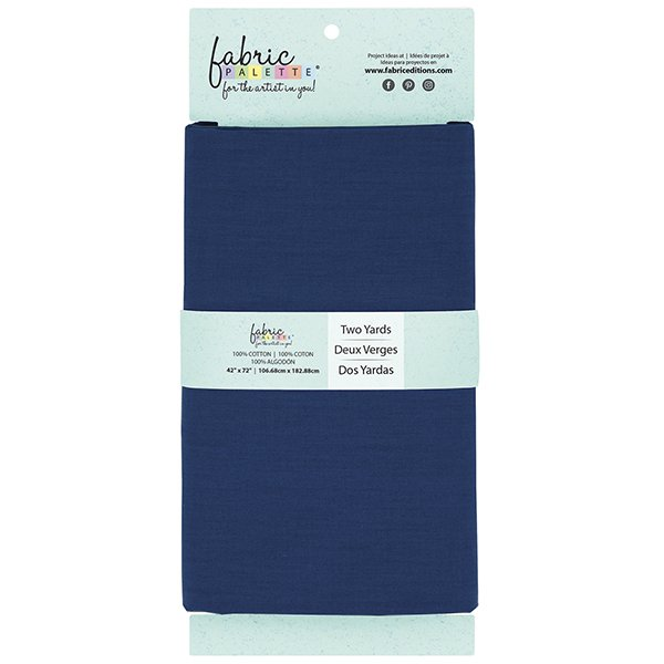 Fabric Palette 2yd Cotton<br>Navy<br>MD-G-2YD-CTN20