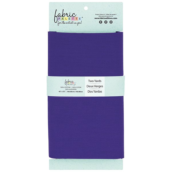 Fabric Palette 2yd Cotton<br>Purple<br>MD-G-2YD-CTN18