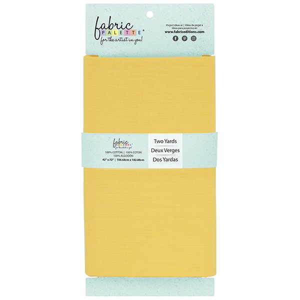 Fabric Palette 2yd Cotton<br>Bright Yellow<br>MD-G-2YD-CTN16