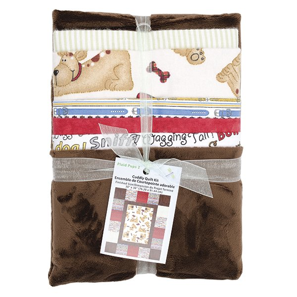 Cuddly Quilt Kit <br> Neutral<br>MD-G-AC-CQ10