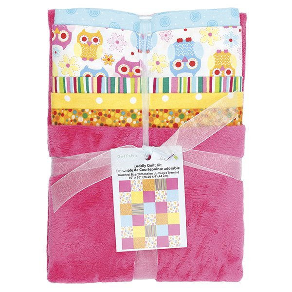 Cuddly Quilt Kit <br> Girl <br>MD-G-AC-CQ3