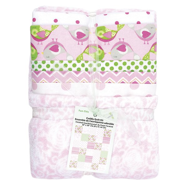 Cuddly Quilt Kit <br> Girl <br>MD-G-AC-CQ4
